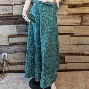 Boho Hippie Cotton Wrap Skirt OS